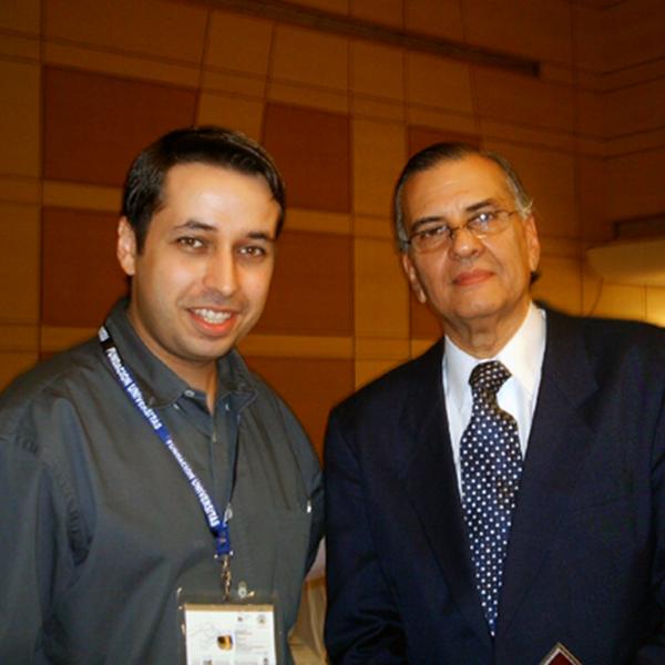 Con el Dr. Oscar Ermida Uriarte